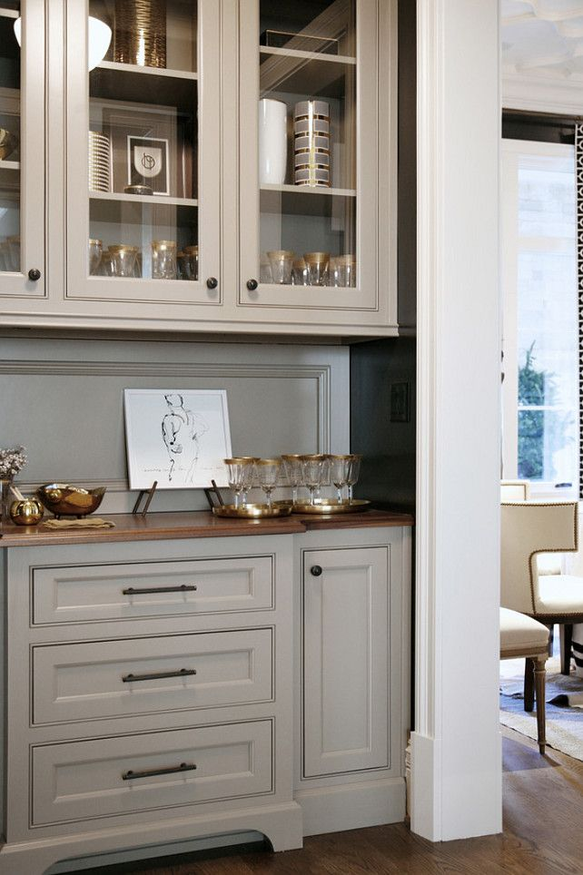 Warm White Kitchen Design Gray Butler S Pantry Home Bunch An Interior Luxury Homes Blog House Pinterest And