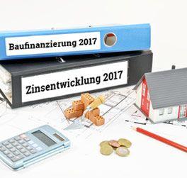 Anstieg der Zinsen für die Baufinanzierung im Laufe des Jahres 2017 zu erwarten  Seit Anfang 2017 befinden sich die Zinsen für eine Baufinanzierung mit durchschnittlich 1,5 Prozent bei zehnjähriger Zinsbindungsfrist...