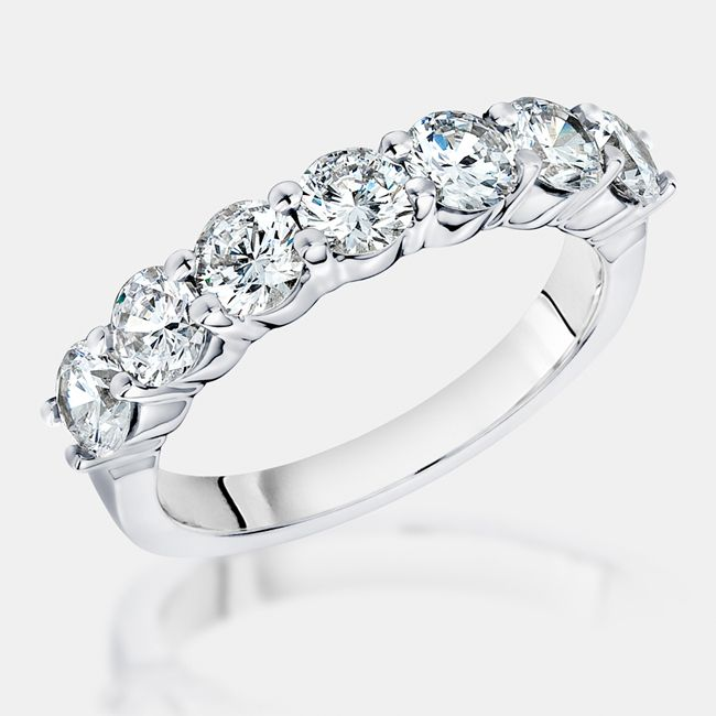 Cubic Zirconia Rings In Gold And Platinum From Birkat Elyon