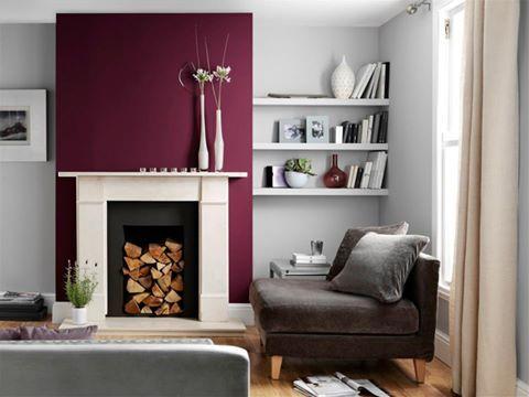 Purple and Grey - Johnstone's Diva & Moonlit Sky
