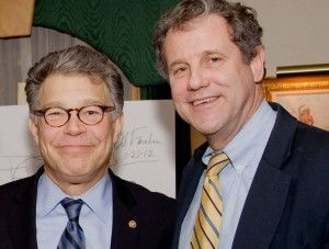 Al Franken and Sherrod Brown moving to amend constitution and reverse Citizens United decision.  http://www.sherrodbrown.com/petition/overturn-citizens-united/?subsource=ckfnamefo16#