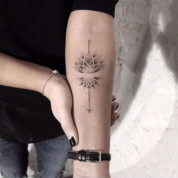 55 Pretty Lotus Tattoo Designs: 25+ Best Ideas About Forearm Tattoos For Women On
