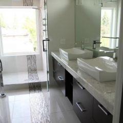 modern bathroom Master Ensuite
