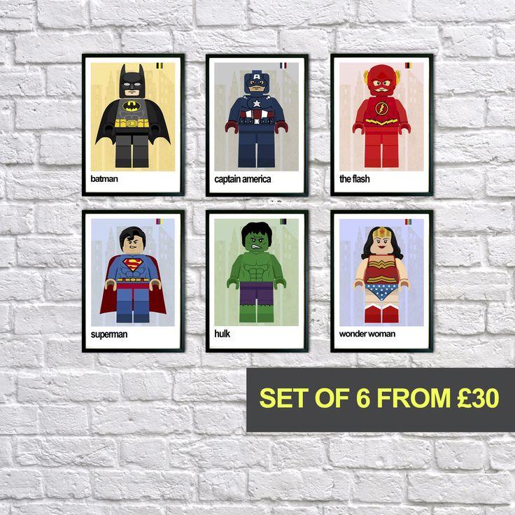 Best 25+ Superhero wall art ideas on Pinterest   Man cave ...