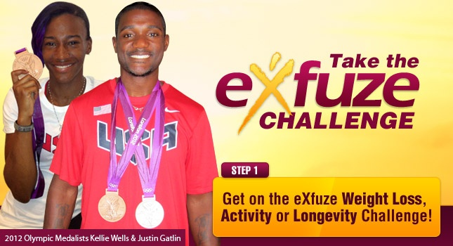These products are amazing for weight loss and healthy well being 7 super foods in one drink!! 2012 Olympic Track Athletes Kellie Wells and Justin Gatlin   win Bronze and Silver Medals with eXfuze by Their Sides--go to the website www.exfuzechallenge.com/cfl