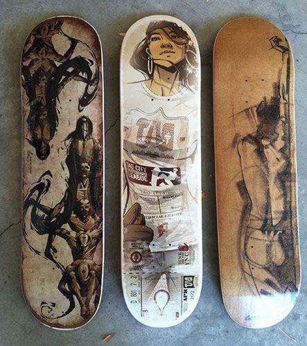 .:: Skate ArT ::. More skate art by Ryan Woodwrd #skateboarding #art