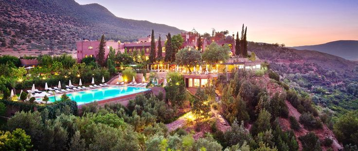 Luxury Holiday Ideas Morocco Kasbah Tamadot Luxury Resort