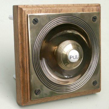 bell pull copied from the late Victorian/Early Edwardian original