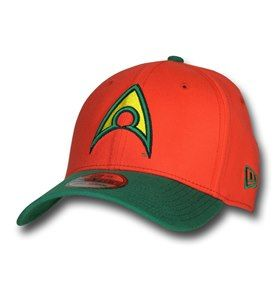 Aquaman Symbol Orange 39Thirty Cap