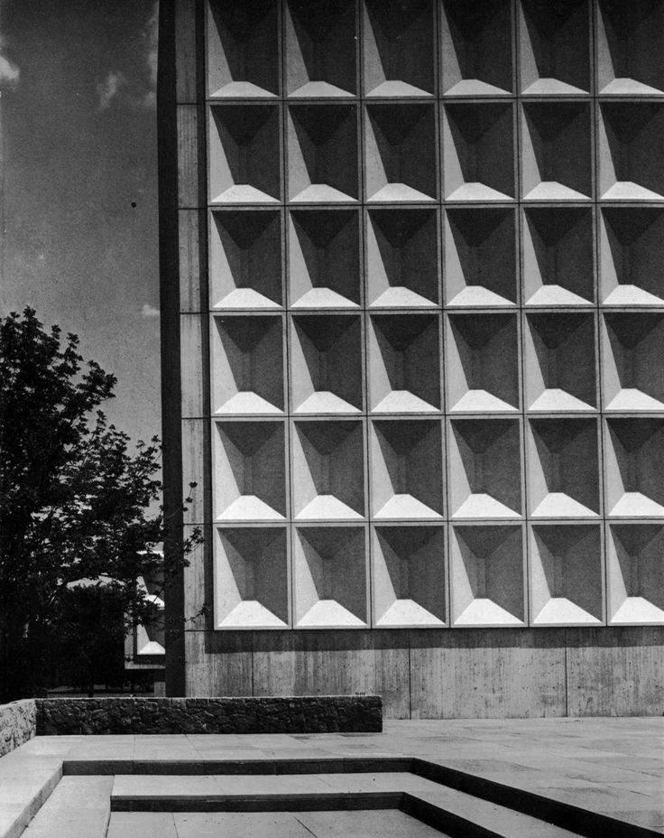 Technology Building II, New York University Uptown Campus (now Bronx Community College), 1964-69 (Marcel Breuer & Associates)