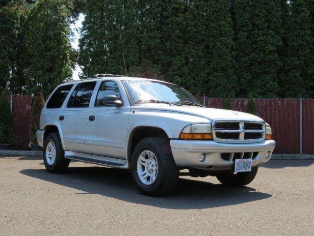 2003 Dodge Durango, 168,808 miles, $4,995.
