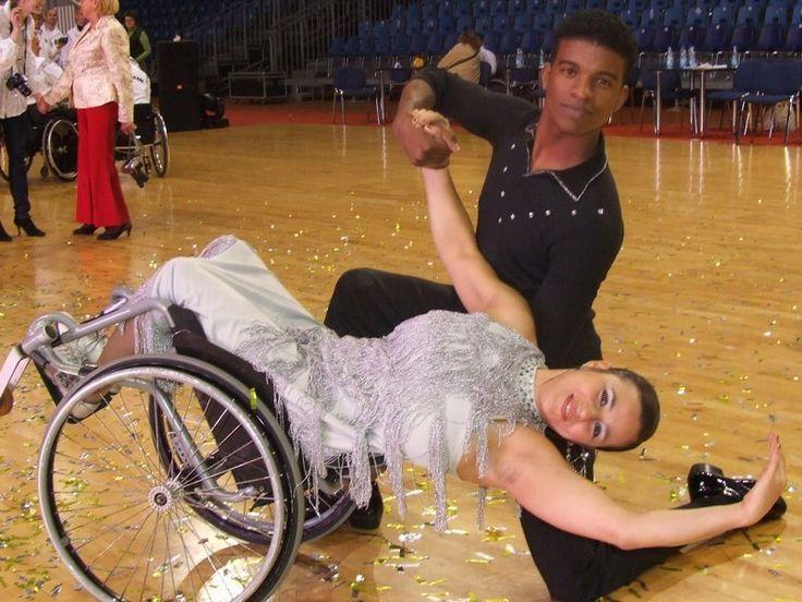 Viviane Macedo Rio de Janeiro, Brazil Wheelchair Dancer - http://blog.amsvans.com/will-rio-paralympics-be-a-nightmare-for-athletes-with-disabilities/