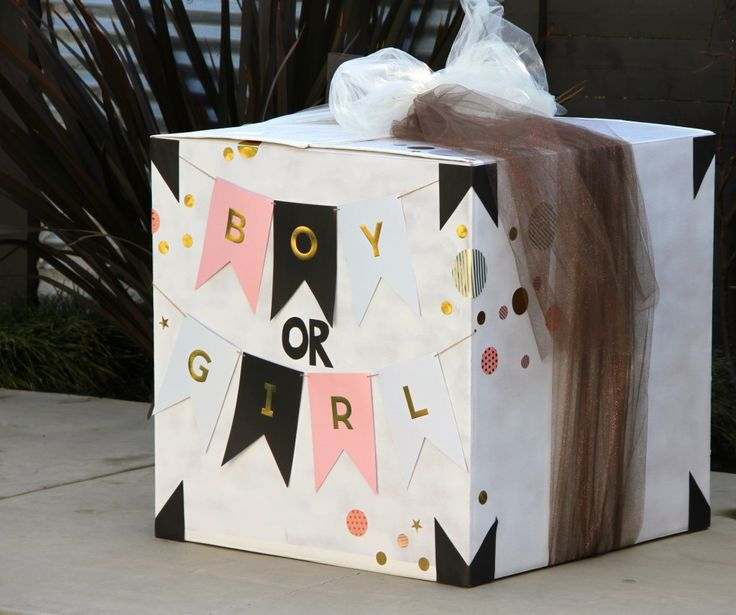 Boy or Girl? Gender Reveal Box