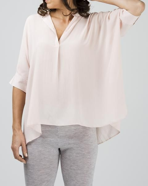 silk freestyle blouse, (available in two shades) $179 www.sassind.com