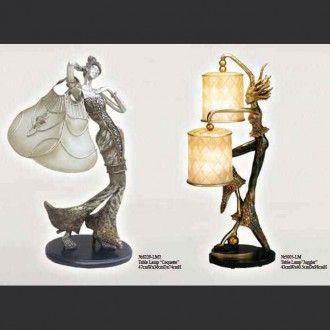 Настольные лампы Coquette и Jangler
