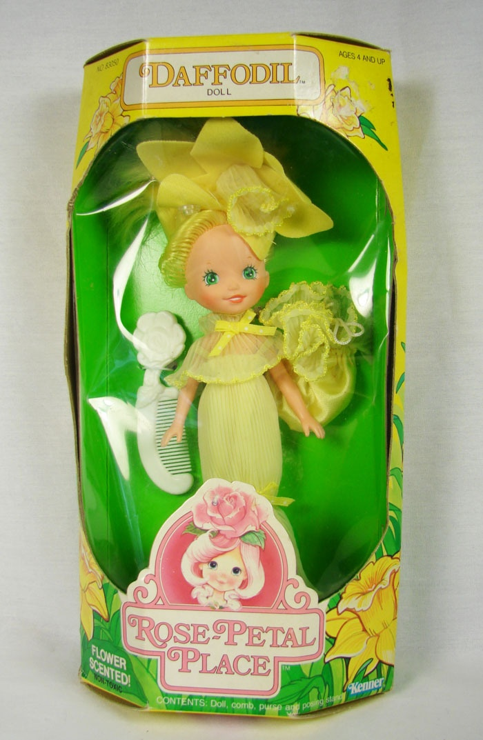 Rose Petal Place doll. I used to have Rose Petal. She may actually still be around somewhere in my old closet.