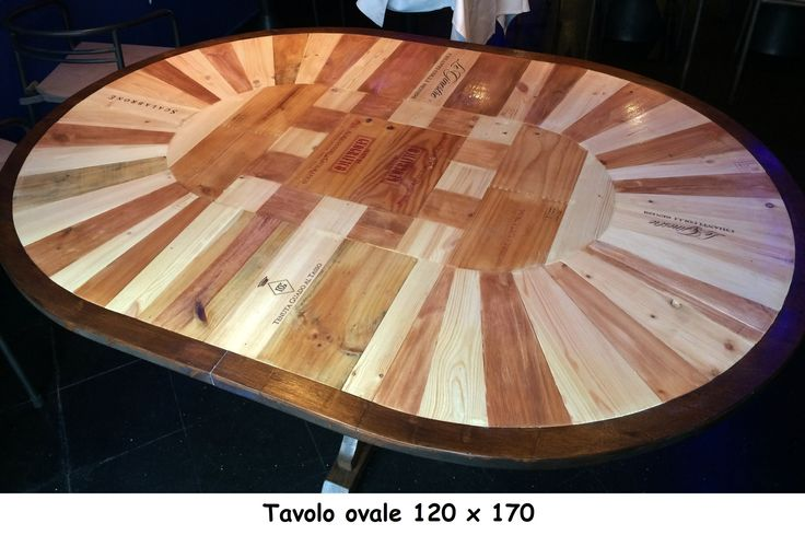 Tavolo ovale 120x170