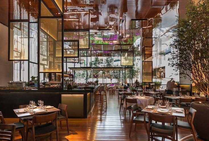 Latest 3d Wallpaper Designs Piselli Restaurant In A Garden By Eric Carlson