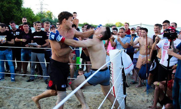 Ульяновский Богатырь против троих бойцов