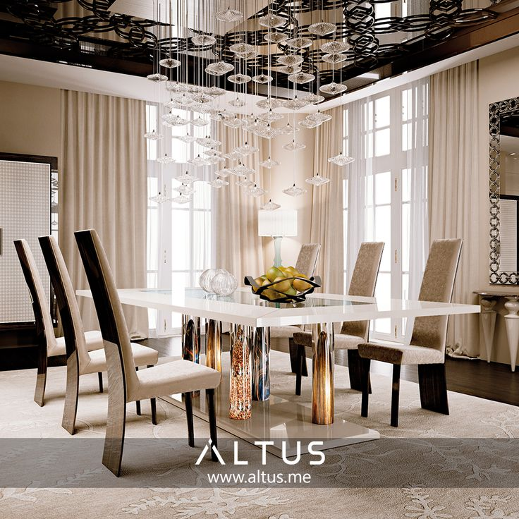 Elegant This Is What #dining In #paradise Would Look Like, Adorned With #Reflex.  Dining Room FurnitureDining RoomsMurano ...