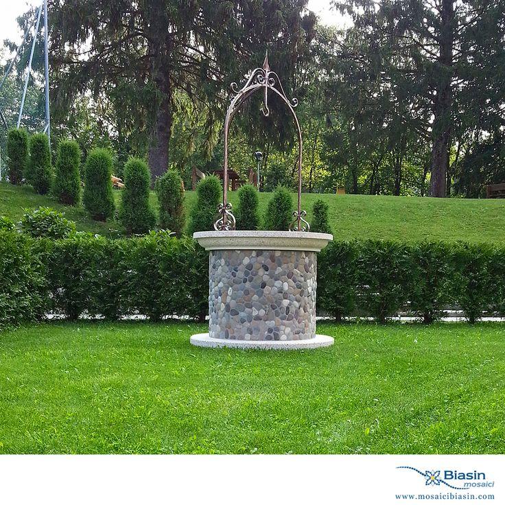 Pozzi | Mosaici Biasin: mosaico, mosaici, arredo giardino, arredamento giardino, barbecue, lavelli, arredamento da esterno, cucina in muratura