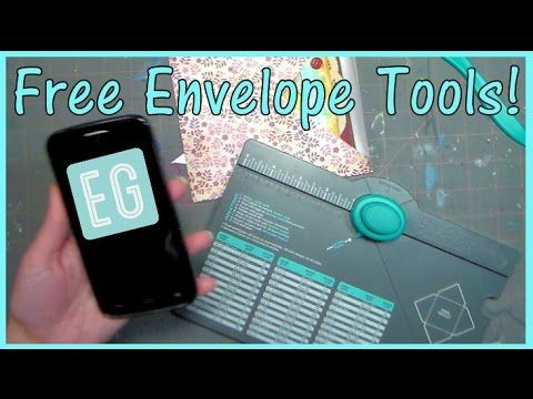This Cool App Makes ANY size Envelopes With a WeR Punch Board! - YouTube