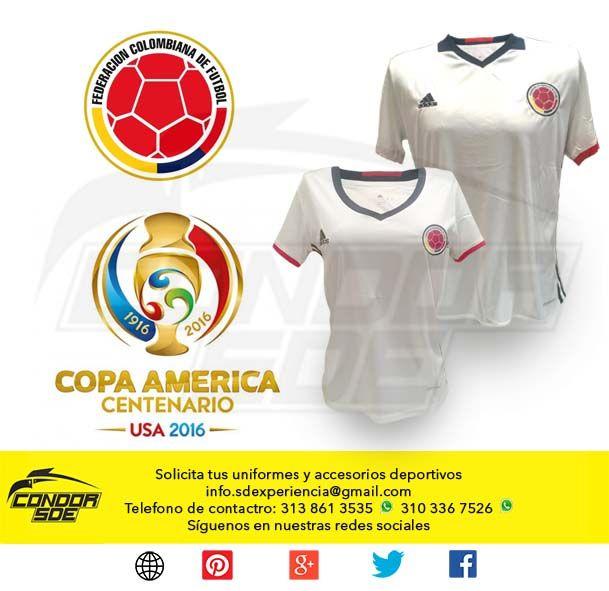 Se acerca una nueva oportunidad de apoyar a la selección Colombia de fútbol de mayores y para esta oportunidad nuestras selección jugara de blanco, significativo del color alusivo a la paz. Si no tienes tu camisa pregúntanos como puedes obtenerla.#accesorios #ropadeportiva #uniformesdeportivos #guayos #tenis #sudaderas #indumentaria #deportes