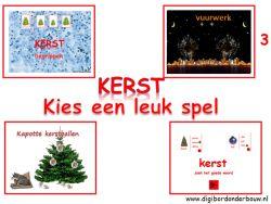 Kerst digibordlessen - Digibord Onderbouw