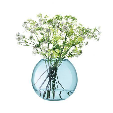 LSA International – Polka Vase – Apfelgrün – 16 cm