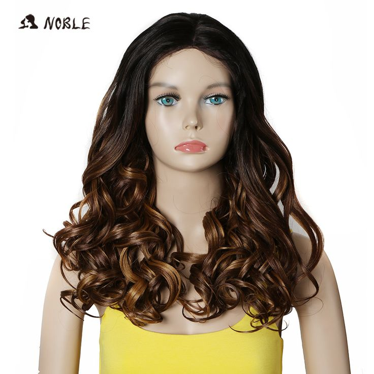 Noble Hair Products Synthetic Wigs 20 Inch Long Wavy