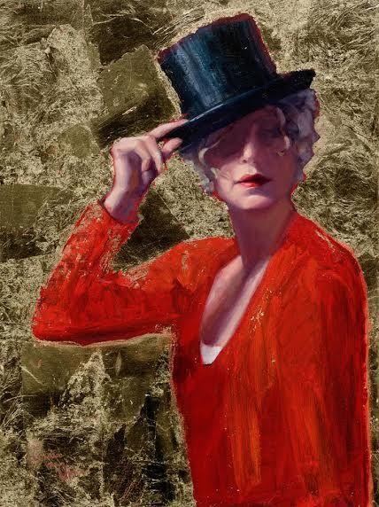 """""""Welcome, Wilkommen, Bienvenue"""" 60x80cm, oil on linen.  Portrait painting by Carolien van Olphen"""