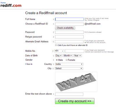radiffmail.com