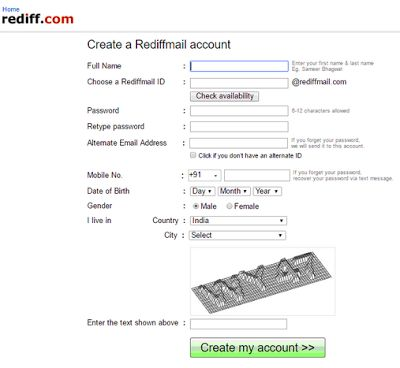 Rediffmail Account | Rediffmail Sign Up | Rediffmail Inbox | Rediff Mail Com