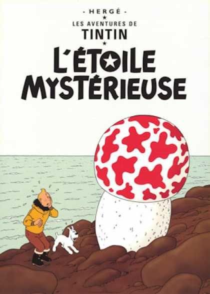 Tintin, Letoile Mysterieuse, Herge