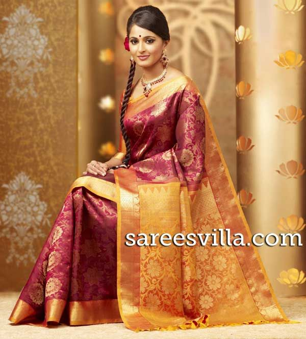 Wedding Kanchi Pattu Sarees,kanchipuram silk saree | Sarees Villa