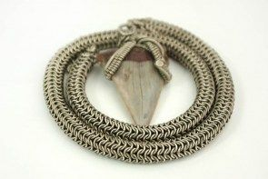 shark-fossilized-teeth-English-chain-mail