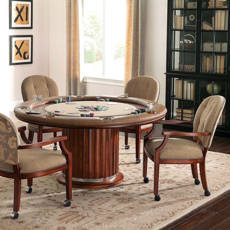 Unique Hidden Bar Game Table