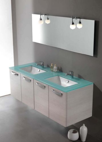 Piesse Ciclamino 04 Mobile bagno rovere sbiancato mobili bagno stile Classico | eBay