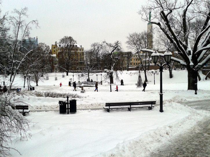 Bastejkalna Parks, Riga, Latvia