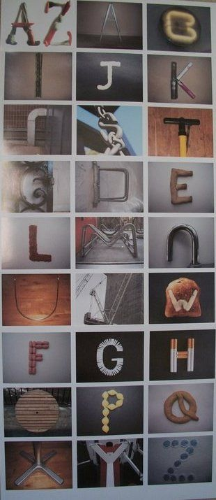 A-Z Typography-Typology by Christopher Webb
