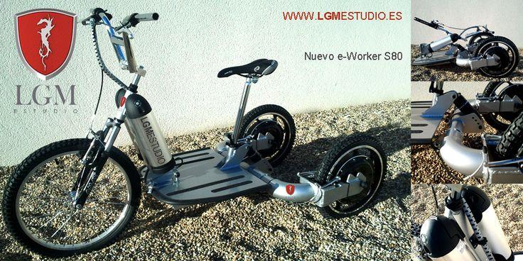 LGM estudio presenta el triciclo eléctrico e-Worker S80 2012