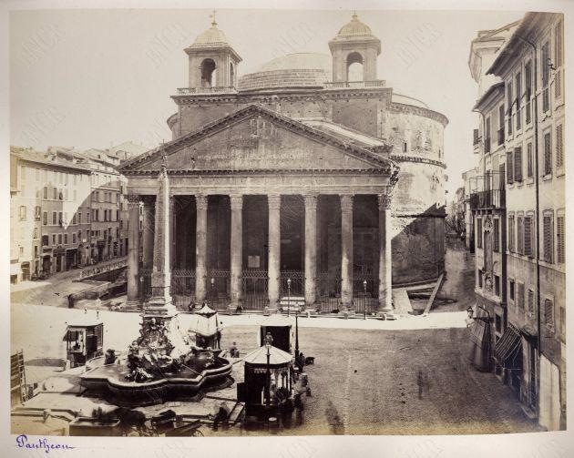 Roma. Pantheon 1860-1880