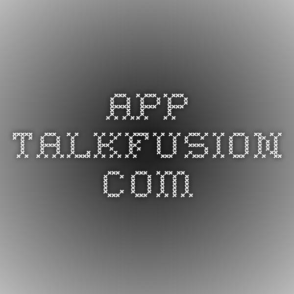 app.talkfusion.com