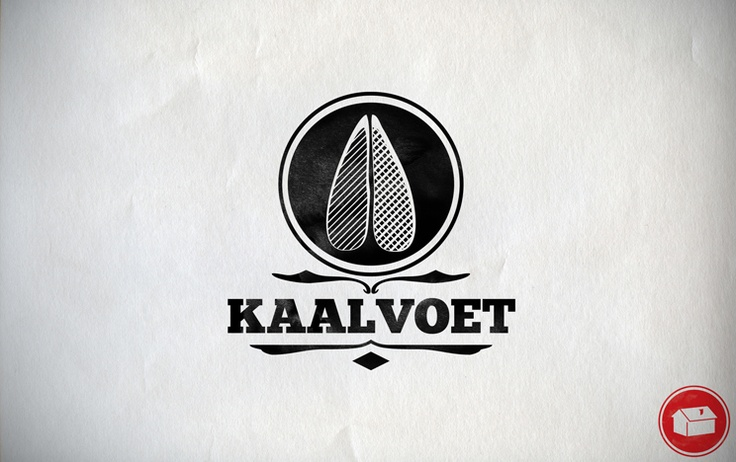 Kaalvoet, basic translation from Afrikaans to English means Barefoot. This is a Logo for a T-Shirt brand.