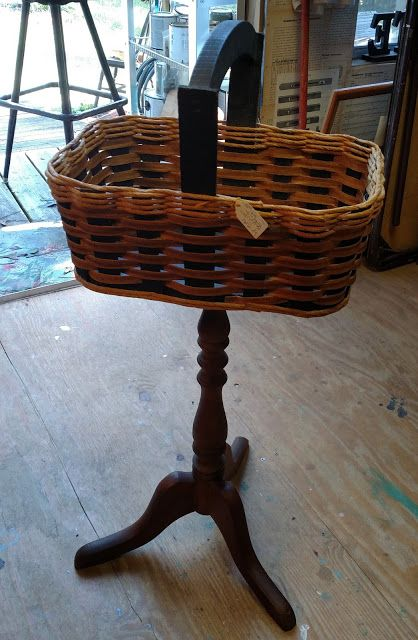 Red Tin Inn  new uses for old baskets...Up Cycling broken tables..funky storage..
