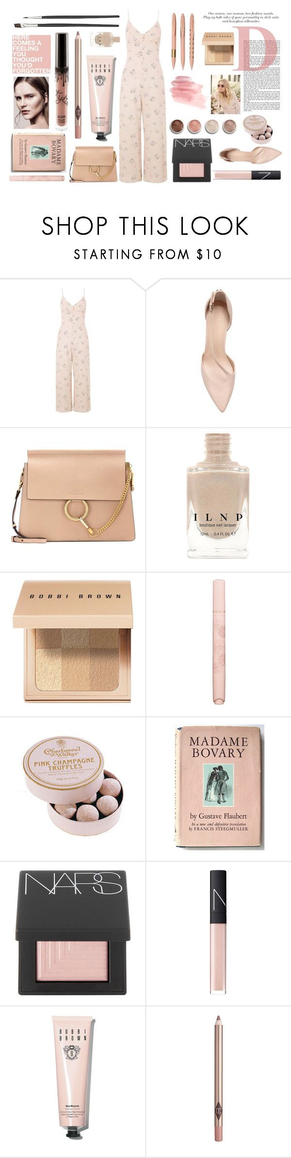 """Jumpsuit 1/3"" by seetheotheroceans ❤ liked on Polyvore featuring Nobody's Child, Chloé, Bobbi Brown Cosmetics, Terre Mère, Paul & Joe, POSH, Jimmy Choo, NARS Cosmetics and Charlotte Tilbury"