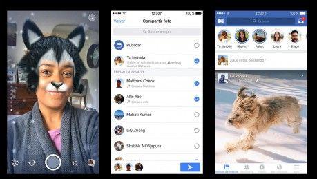 """Llegó a las redes sociales Facebook Stories   La función similar a una que ya existe en Snapchat e Instagram permite subir fotos o videos que duran apenas 24 horas.  Facebook comenzó a implementar desde hoy en Argentina su función """"Stories"""" -como ya existe en Instagram- la cual le permite al usuario compartir fotos y videos con sus contactos a lo largo de un día al tiempo que también habilitó nuevos efectos interactivos para aplicar en las imágenes y una opción llamada """"Direct"""" para…"""