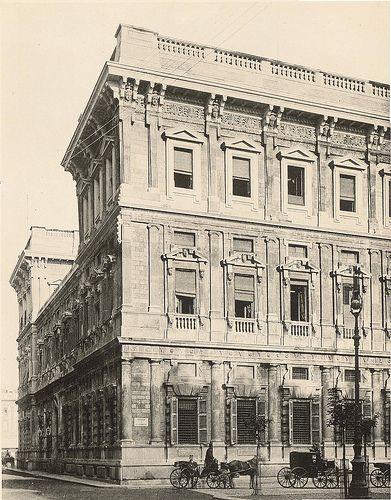 Palazzo Marino da Piazza San Fedele 1898 | Milàn l'era inscì Urbanfile | Flickr