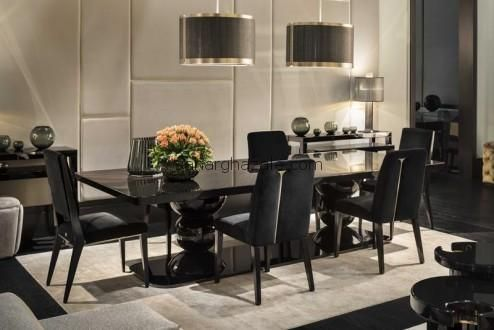 Fendi Dining Room Sets Dining rectangular table Galileo