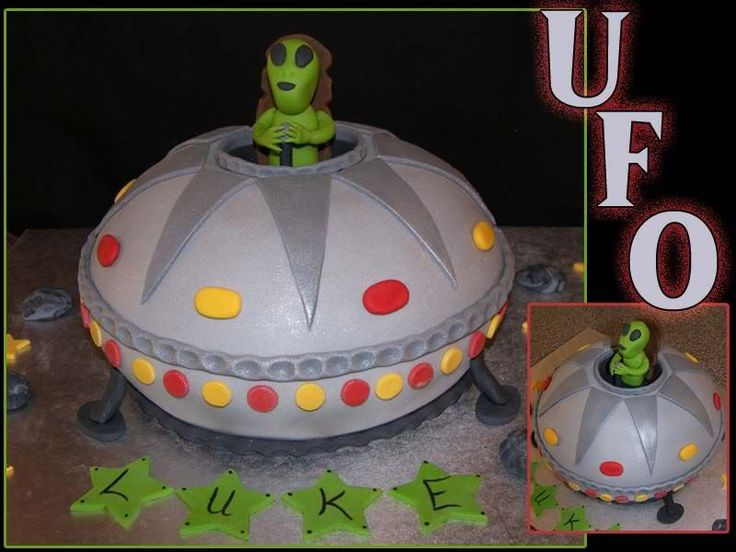 ufo party cakes - Google Search